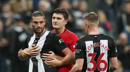 """""""Manchester United"""" krachas: pralaimėjo vieniems autsaiderių"""
