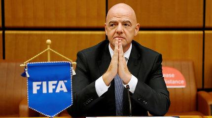 Koronavirusas užklupo ir FIFA bosą