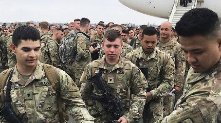 Pentagonas: perdislokuojant JAV pajėgas Europoje siekiama stiprinti Rusijos atgrasymą
