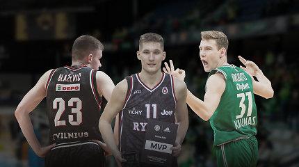 Daugiausiai žadantys Lietuvos krepšinio jaunieji šviesuliai