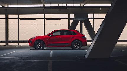"""Naujas GTS modelis """"Porsche"""" šeimoje: pristatytas sportiškiausias """"Macan"""""""