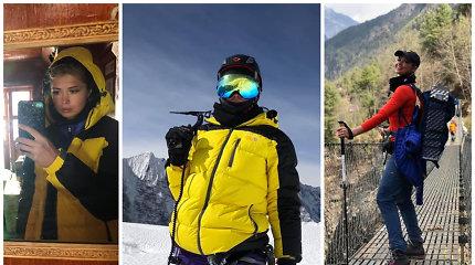 J.Leonavičiūtė išpildė gyvenimo svajonę – įkopė į 6 km aukščio kalną ir aplankė Everesto bazinę stovyklą