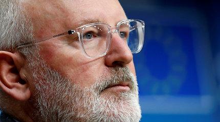 Naujoje Europos Komisijoje kovai su klimato kaita vadovaus olandas F.Timmermansas: kokie kiti kandidatai?