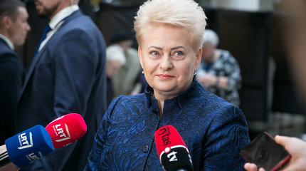 """Prezidentė: """"Lietuvos ryto"""" straipsniai apie prokuratūrą – spaudimas teisėsaugai"""
