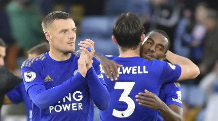 """""""Premier"""" lyga: """"Leicester City"""" išsityčiojo iš """"Newcastle"""""""