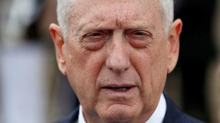 J.Mattisas: Rusija negali perimti JAV vaidmens Artimuosiuose Rytuose