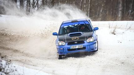 """Ar R.Šeinauskas su R.Krikščiūnaite šiemet """"į aikštelę išbėgs"""" su """"Subaru"""" automobiliu?"""