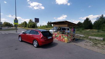 """Eksperimentas """"Ir į darbą, ir į sodą"""": kiek arbūzų telpa į """"Škoda Scala"""" bagažinę"""