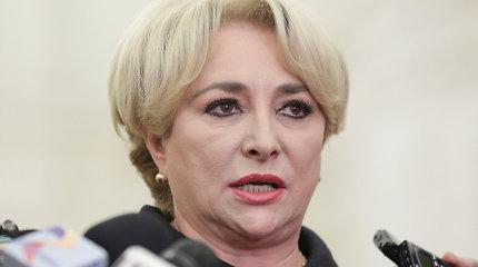 Rumunijos vyriausybei gresiabalsavimas dėl nepasitikėjimo
