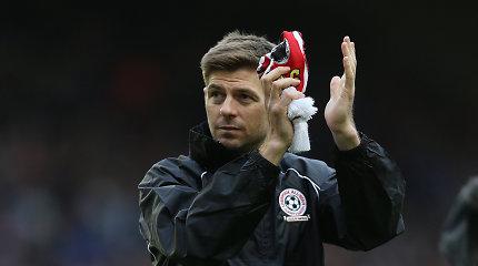 """Stevenas Gerrardas atsisveikino su """"Los Angeles Galaxy"""""""