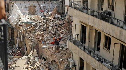 Libano premjeras: FTB nustatė, kad Beiruto uoste sprogo 500 tonų trąšų