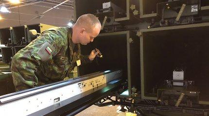 Lietuvos KOP pradeda testuoti vidutinio nuotolio oro gynybos sistemą NASAMS