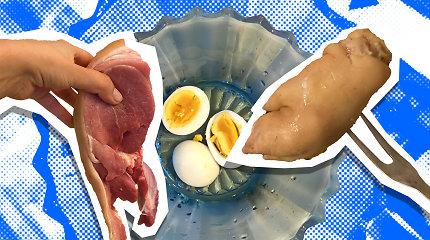 """""""Evelinos kuchnia"""". Į verslo susitikimą – su kiaulės kanopomis: vintažinės šaltienos receptas"""