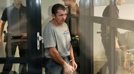 """Už mirtiną beveik pusšimčio smūgių seriją ir aukos """"laidotuves"""" konteineryje – 9,5 metų kalėjimo"""