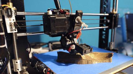 Lietuvių tyrėjai dirbtinius kaulus siūlo spausdinti 3D spausdintuvu