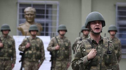 Turkija tikisi greitai užbaigti operaciją Sirijoje