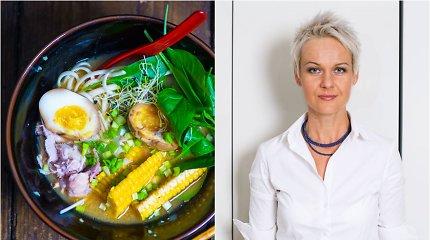 Nidos receptas: tirštosios, sočiosios rameno sriubos abėcėlė