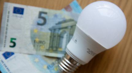 Rekordiškai karštą birželį elektros kaina augo nežymiai