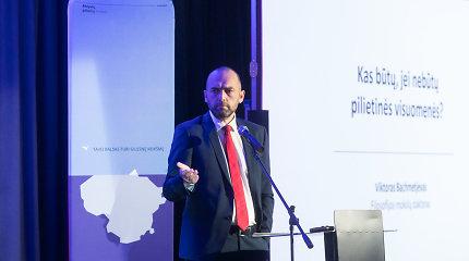 Viktoras Bachmetjevas: Kas būtų, jei nebūtų pilietinės visuomenės