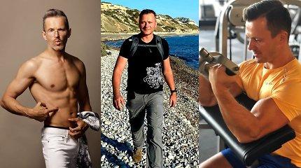 Žinomi Lietuvos vyrai – apie sportą karantino sąlygomis: pataria, kaip palaikyti gerą fizinę formą