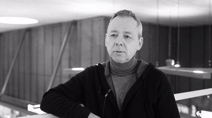 Įsimintiniausiu 2017 metų Kauno menininku tituluotas Gintaras Balčytis