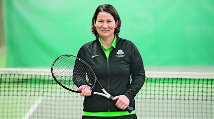 Lietuvos teniso trenerei – aukščiausio lygio licencija