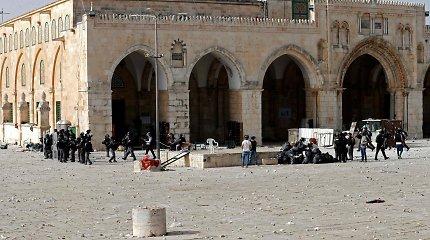 Kodėl Jeruzalėje esanti Al Aksos mečetė vis įplieskia palestiniečių ir izraeliečių konfliktą?