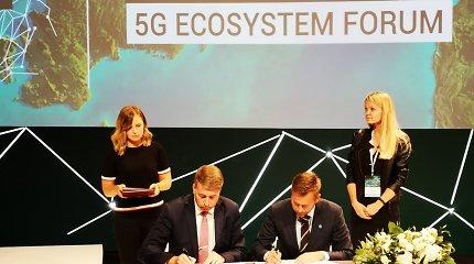 Baltijos šalių ministrai pasirašė 5G technologijos memorandumą