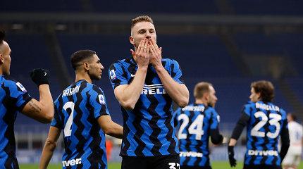 """""""Serie A"""": """"Inter"""" pratęsė savo dominavimą"""