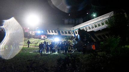 Sunkvežimį Italijoje vairavęs lietuvis spėjo iššokti iš jo iki susidūrimo su traukiniu