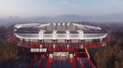 R.Šimašius: yra prielaidų toliau tęsti nacionalinio stadiono projektą
