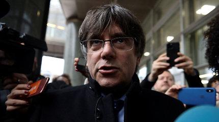 Darbą EP pradedantis Madrido ieškomas katalonas užsipuolė Ispanijos teisingumą