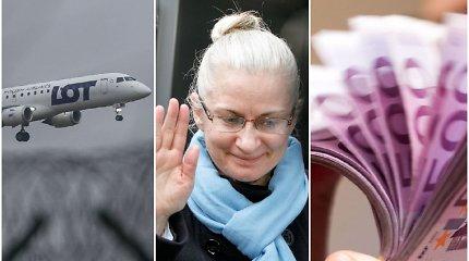 Prievartinis N.Venckienės skrydis per Atlantą kainavo tūkstančius – mokės ji pati ar Lietuvos mokesčių mokėtojai?