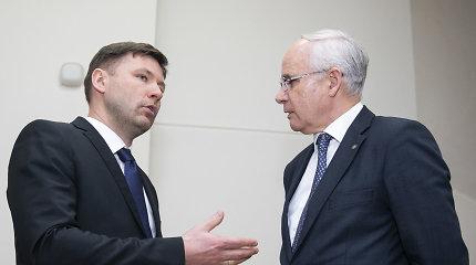 Premjeras ir švietimo ministras su A.Navicko profsąjunga tarsis dėl reikalavimų