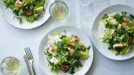 Pavasarinis receptas – kepti fetos ar halumio sūriai ir salotos išgyvena aukso amžių