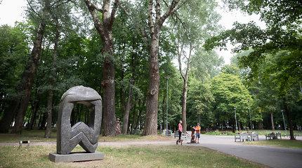 Paskelbtas konkursas Klaipėdos Skulptūrų parkui sutvarkyti