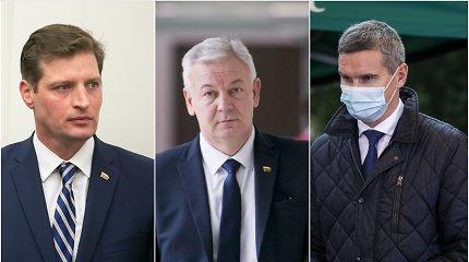 Koronavirusu užsikrėtė dar trys Seimo nariai, pranešė Seimo pirmininkė
