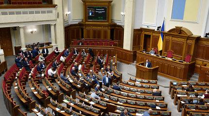 Pirmalaikiai Ukrainos parlamento rinkimai vyks liepos 21-ąją