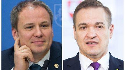 Buvę ministrai G.Surplys ir E.Misiūnas gaus politinio pasitikėjimo pareigas