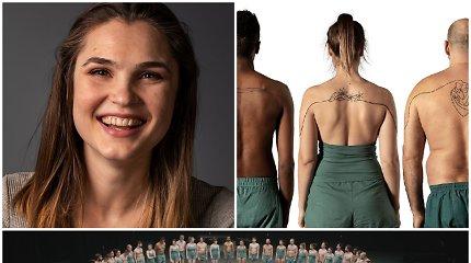 Lietuvė Rūta tapo unikalaus projekto dalimi – darėsi bendrą tatuiruotę su 60 nepažįstamųjų