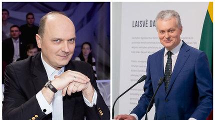 """Giedrius Drukteinis sukritikavo prezidento inauguracijos aprangos kodą: """"Kas čia per žvėris?"""""""