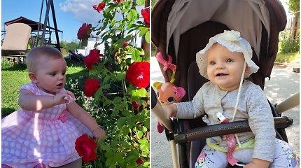 Šeima prašo pagalbos: 9 mėnesių Žemyna serga akių vėžiu, gydymui reikia per 30 tūkst. eurų