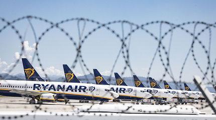 """Italija pagrasino neleisti """"Ryanair"""" vykdyti skrydžių į šalį"""