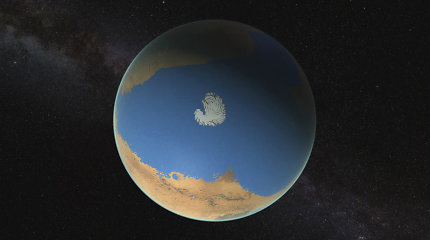 Kur slepiasi Marso vanduo? Mokslininkai turi naują teoriją