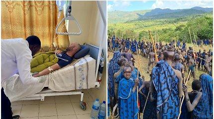 """D.Pankevičiaus kova už gyvybę lankant nuošalią gentį Etiopijoje: """"Blogesnės vietos susirgti net nesugalvosi"""""""