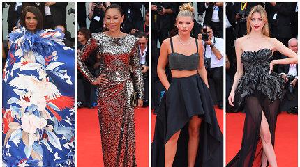 Prasidėjo 76-asis Venecijos kino festivalis: ant raudonojo kilimo sužibėjo ryškiausios žvaigždės