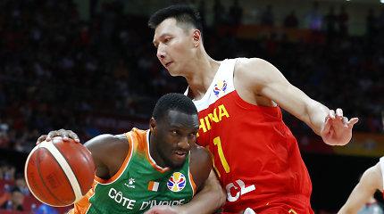 Pergalingas šeimininkų startas – Kinija susitvarkė su Dramblio Kaulo Krantu