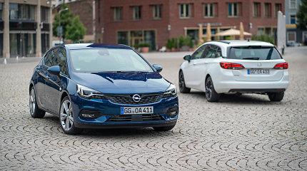 """""""Opel Astra"""" sulaukė atnaujinimo: pagrindiniai pokyčiai – po variklio gaubtu"""