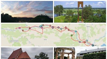 Gražiausias Lietuvos kelias pateiks ir siurprizų: vietos Nemuno pakrantėse, kurių praleisti nevalia