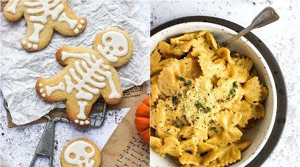 """auGalingas iššūkis: makaronai su moliūgo ir """"sūrio"""" padažu ir """"sviestiniai"""" sausainiai"""